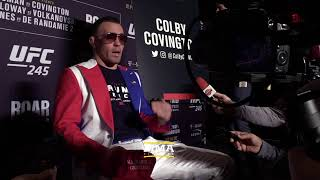 UFC 245: Colby Covington Media Day Live Stream - MMA Fighting
