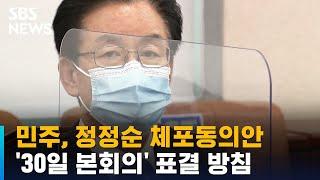 민주, 정정순 체포동의안 '30일 본회의'…