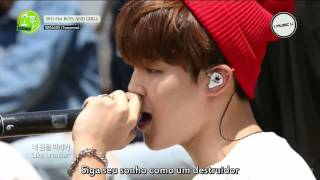 BTS - Tomorrow @Picnic Live MBC [Legendado PT-BR]