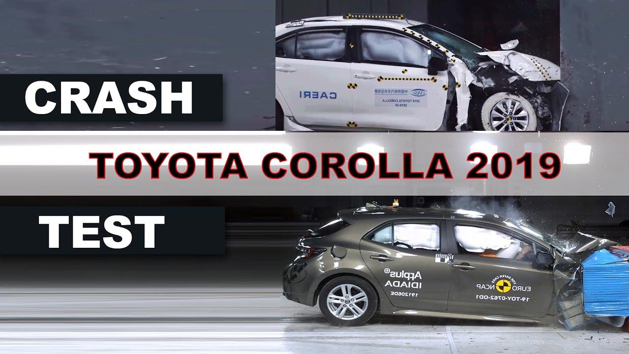 Toyota Crash Test 2020