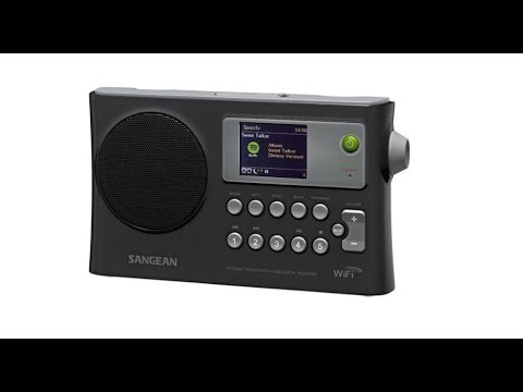 Sangean WFR-28 FM WiFi Intetnet Radio receiver