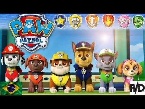 Paw Patrol On A Roll Patrulha Canina Lindos E Fofos Pt Br Youtube