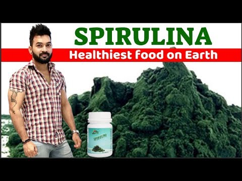 Healthiest Food on Earth SPIRULINA. Video in Hindi