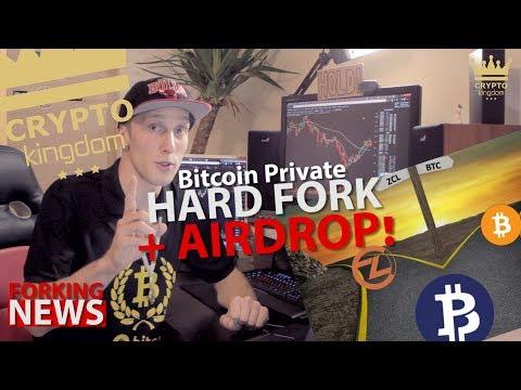 Bitcoin Private Hardfork + Airdrop | Forking News | Crypto Kingdom CZ