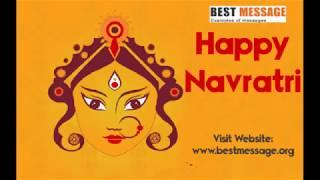Happy Navratri Messages | Navratri Wishes | Navratri Special Whatsapp Status Video  2019