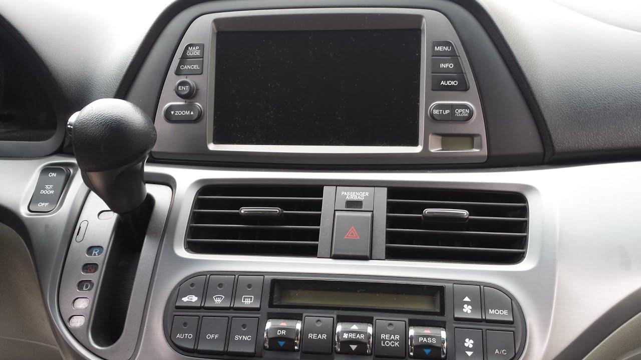 medium resolution of honda odyssey 2005 2010 multi din stereo harness radio install dash kit package vehicle electronics