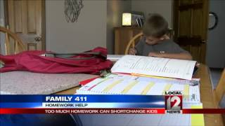 Family 411: Homework overload