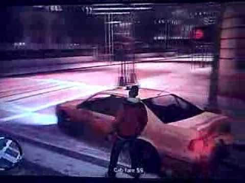 GTA IV BOGT - Drug War Taxi Ride