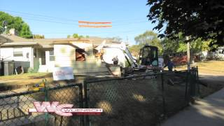 Wuensch Construction Garage Demo In Minnapolis