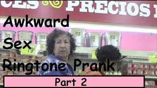 Awkward Sex Ringtone Prank! (Part 2)
