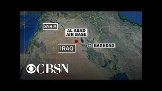 Retaliation possible after Iran launches missiles at U.S. troops in Iraq