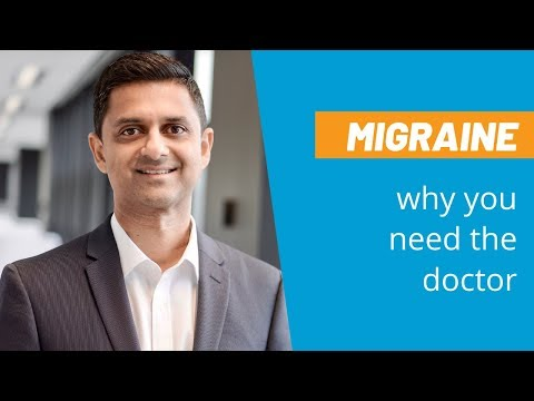 Migraine: Why you need to see the doctor