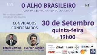 LIVE - O alho brasileiro quer mais espaço na mesa do consumidor