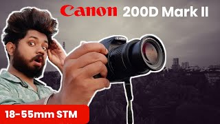 Canon 200D Mark II With EFS IS 18-55mm f4-5 6 Lens - Manual Photography amp Video Test With Settings