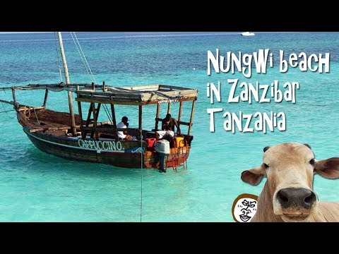 Nungwi beach in Zanzibar 【 Travel Tanzania うろうろアフリカ 】タンザニア旅行