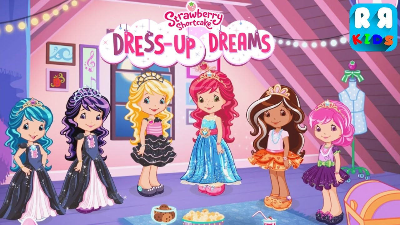 Strawberry Shortcake Dress Up Dreams - Princess Dress up Costume - YouTube  sc 1 st  YouTube & Strawberry Shortcake Dress Up Dreams - Princess Dress up Costume ...