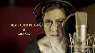 The Lion King | Rise Of The King - Shah Rukh Khan | Hindi | In Cinemas July 19