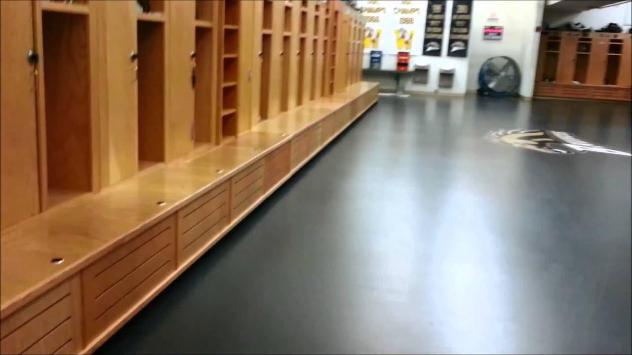 Football locker room pt two