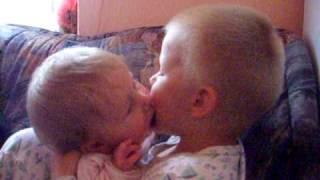 Děti a jejich pusinky