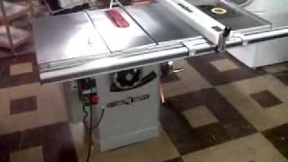 Steel City Cabinet Style Table Saw Coin Test