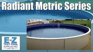 Radiant Metric Series 24ft Round Above Ground Swimming Pool