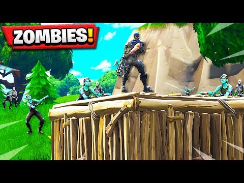 INFECTED GAME MODE! ZOMBIES IN FORTNITE BATTLE ROYALE!