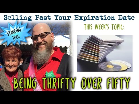Selling Past Your Expiration Date - Being Thrifty Over 50 w JPeg Episode 1