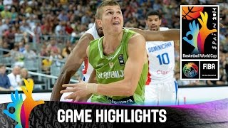 Dominican Republic v Slovenia - Game Highlights - Round of 16 - 2014 FIBA Basketball World Cup
