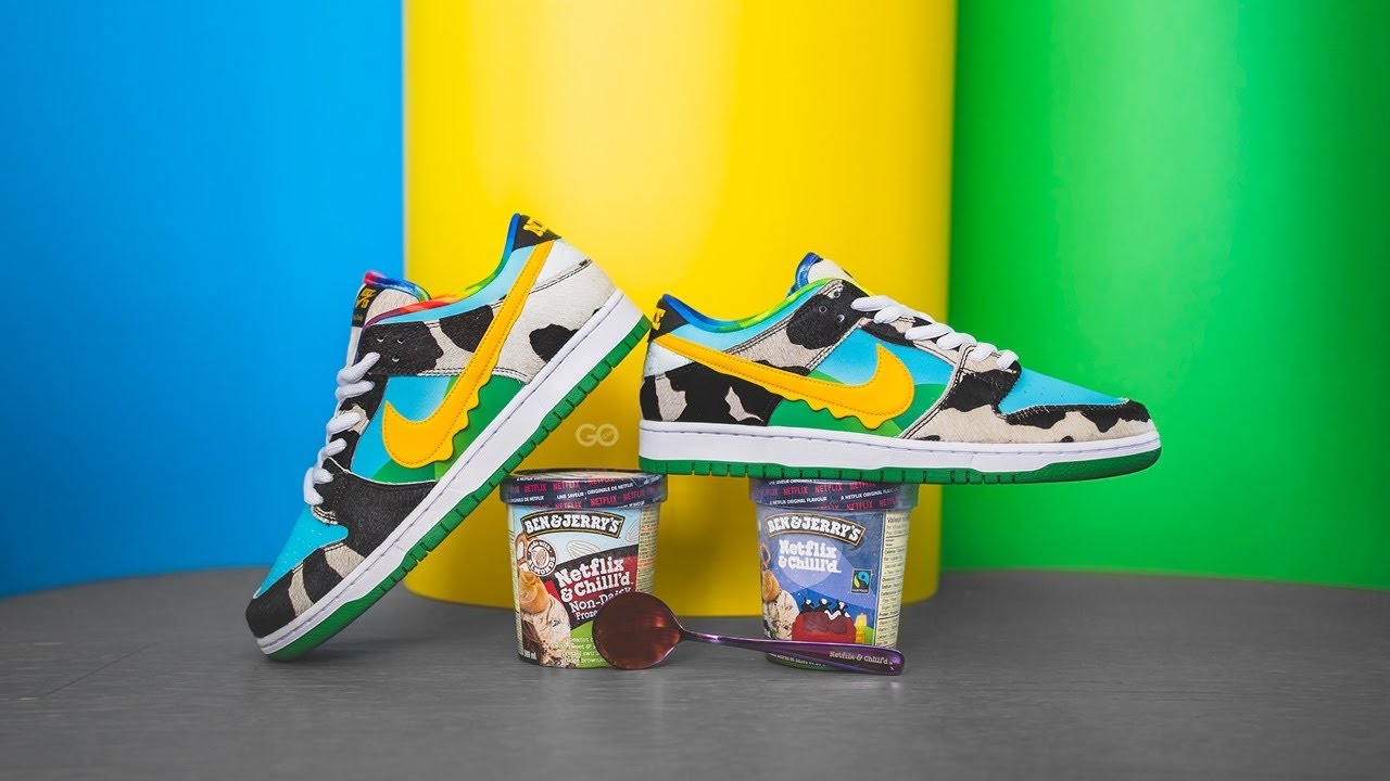 Ben & Jerry's x Dunk Low SB 'Chunky Dunky' Special Ice Cream Box