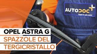 Sostituzione Spazzola tergivetro posteriore e anteriore OPEL ASTRA G Hatchback (F48_, F08_) - video istruzioni