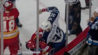 Dustin Byfuglien vs Garnet Hathaway Dec 10, 2016