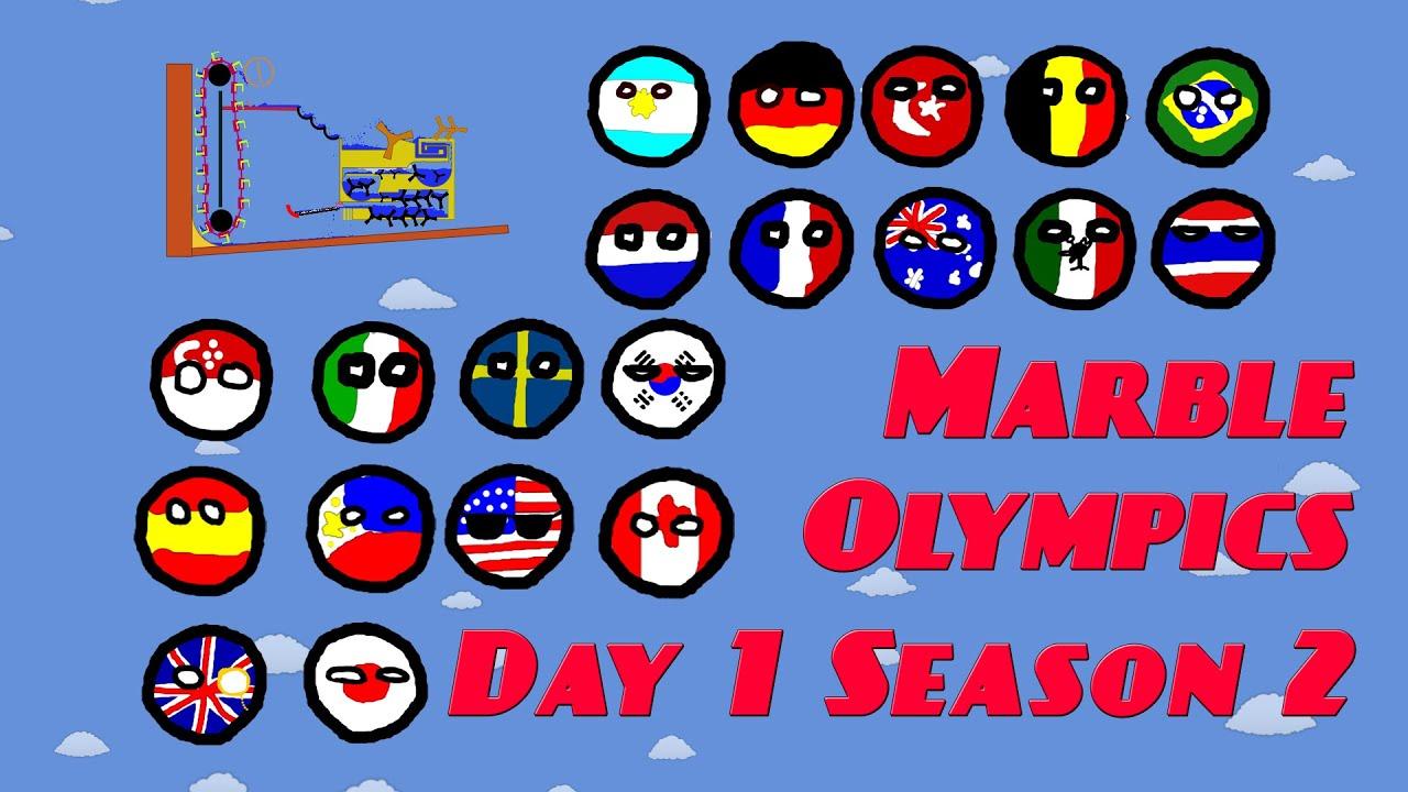 Marble Olympics Day 1 Season 2