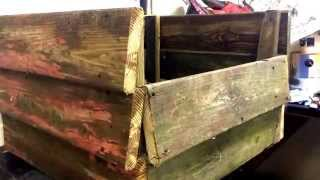 How To Build A Flower Planter From Reclaimed Wood. Part 2