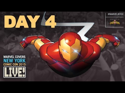 Marvel LIVE! at New York Comic Con 2015- Day 4