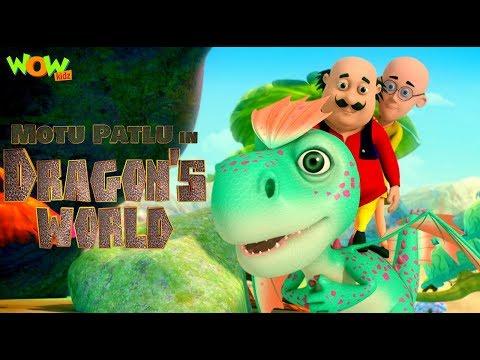 Motu Patlu in Dragon's world | MOVIE | Kids animated movie | WowKidz
