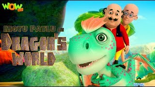 Motu Patlu in Dragon's world | MOVIE | Kids animated movie | WowKidz