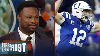 Nick Wright and Bart Scott analyze Andrew Luck's comeback season | NFL | FIRST THINGS FIRST
