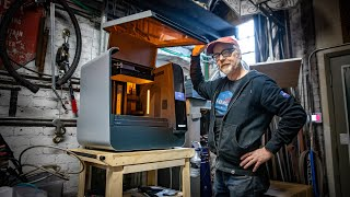 Adam Savage's One Day Builds: Resin 3D Printer Station!