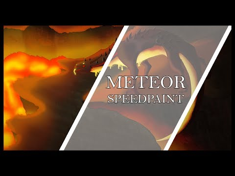 [SPEEDPAINT] Meteor Shower