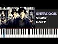 Sherlock Who You Really Are SLOW EASY PIANO TUTORIAL mp3
