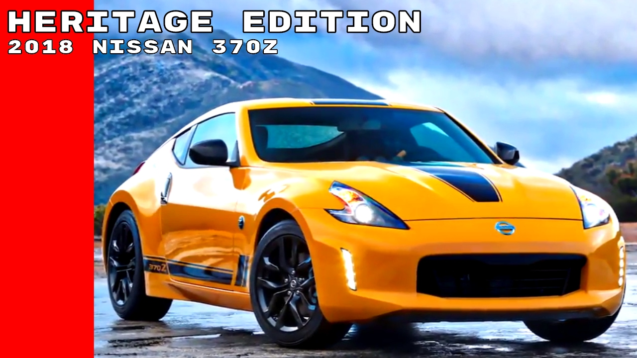 2018 Nissan 370z Heritage Edition Youtube