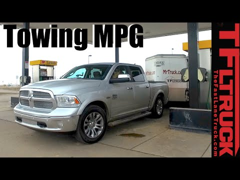 2016 Ram 1500 HEMI MPG Review: Towing and Not Towing