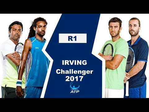 Brown Dustin / Paes Leander vs Marach Oliver / Martin Fabrice Highlights IRVING 2017