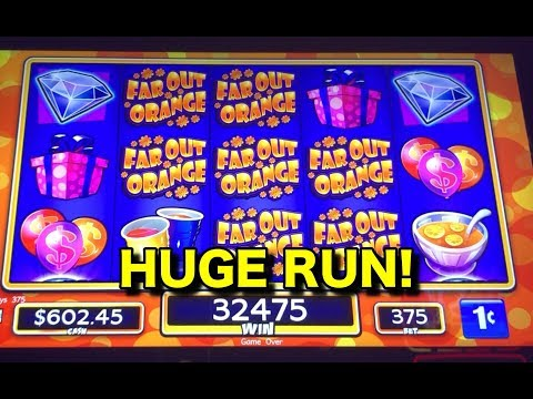 AMAZING RUN!  Jackpot Party Ultimate Party Spin Slot Machine