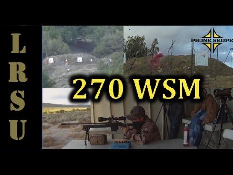 270 WSM vs Milk Jug at 1200 Yards - Michael Langston