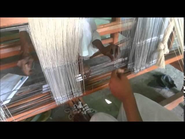 Weaving Process Animation 3D by Tarun K Thakur
