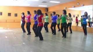Scarborough Waltz - Line Dance (Dance & Teach in English & 中文)