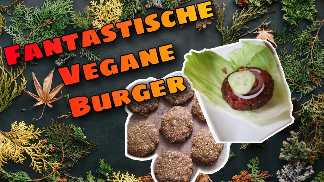 Fantastische vegane Burger selber machen! Glutenfrei!