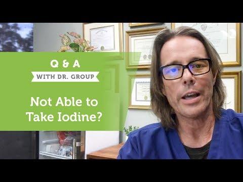 Allergic To Iodine?