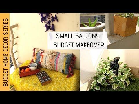 Small Balcony Makeover | Rental Apartment Decor | Bohemian Balcony Decor